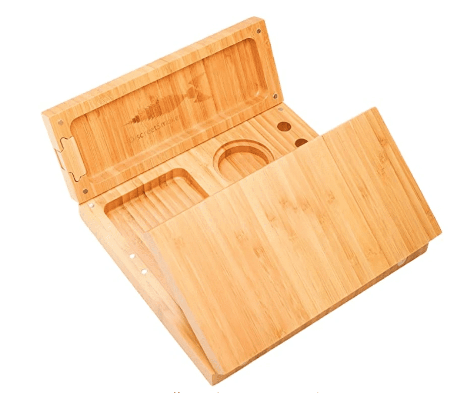 Magnetic Bamboo Weed Rolling Tray. The 5 best weed gifts of 2021